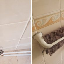 Bathroom Towel Rail Before And After